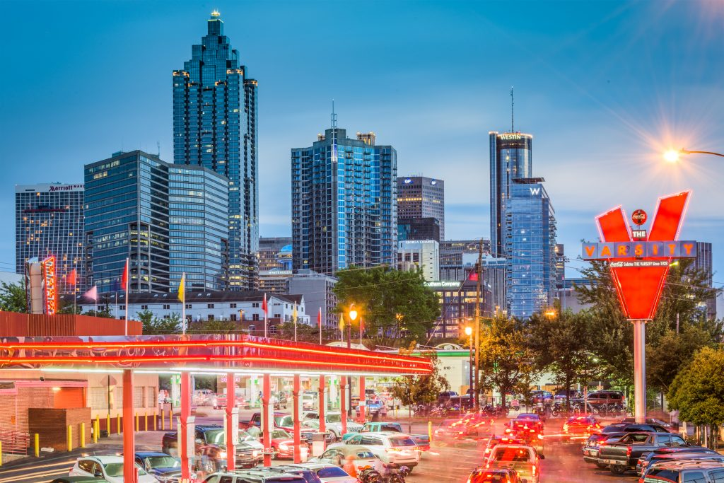 Planning and Preperation - Atlanta Skyline